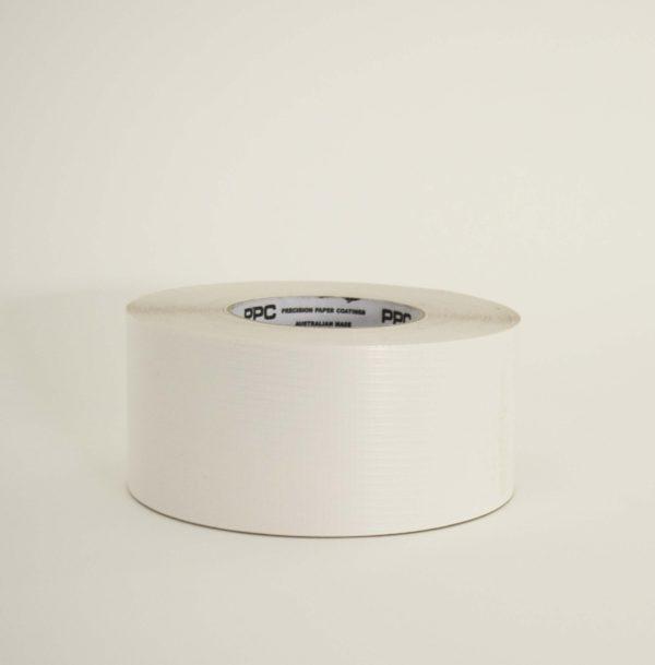 White Reinforced Foil Tape